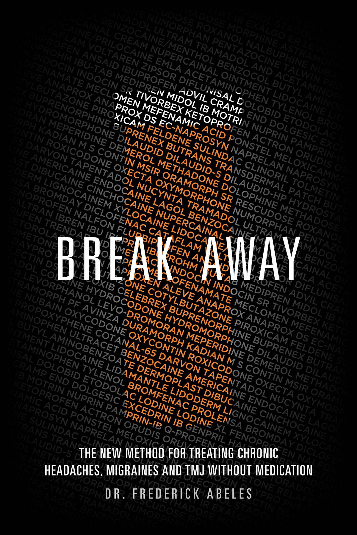 Dr. Fred Abeles new book Break Away can help you cure your TMJ disorder and relieve your chronic headaches and jaw pain.